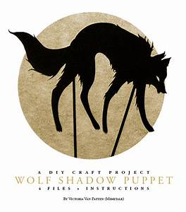 wolf shadow puppet by mimetalk on deviantart With wolf puppet template
