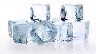 Frozen Ice Cube Melting