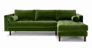 inspirational waverunner modular green sectional sofa With waverunner modular sectional sofa green
