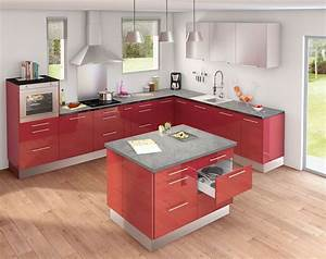 meuble de cuisine nos modeles de cuisine preferes cote With exceptional meuble de cuisine en bois rouge 4 petit ilot central de cuisine cuisine en image