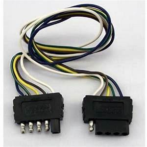 Wesbar 707255 5 Way Wiring Harness Extension