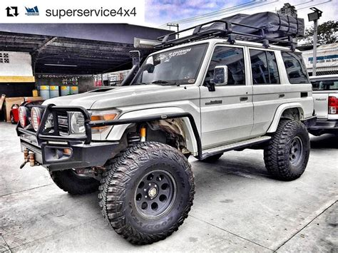 The toyota landcruiser 70 ute stands out with its rugged design and power. Toyota LandCruiser 70 | Land cruiser, Land cruiser 70 ...