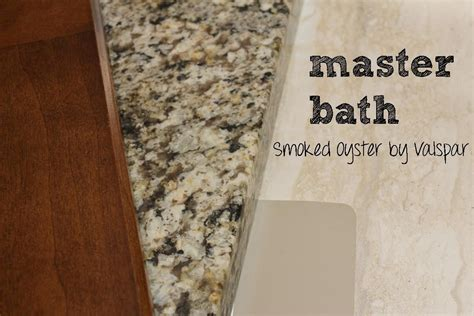 master bath paint smoked oyster by valspar our new