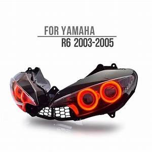 Custom Headlights - Yamaha Headlights - Yamaha R6