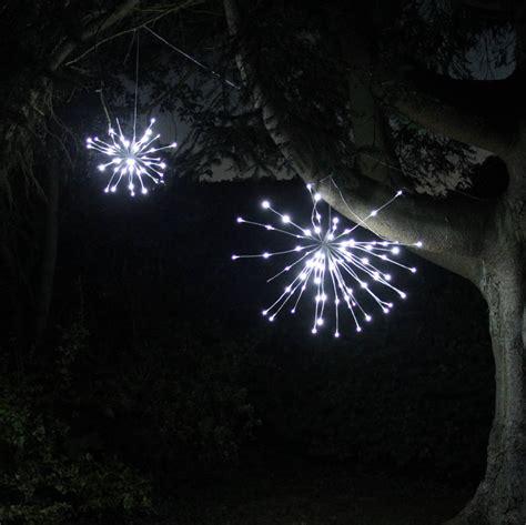 white sparkle ball led light by lime tree london