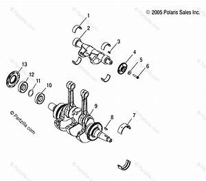 Polaris Side By Side 2012 Oem Parts Diagram For Engine