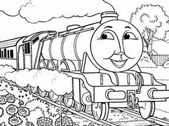 HD Wallpapers Thomas Coloring Pages