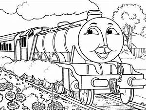 Thomas The Train Coloring Page - AZ Coloring Pages