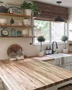 60, Great, Farmhouse, Kitchen, Countertops, Design, Ideas, And, Decor, 29