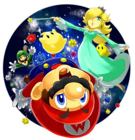 Great Vector Illustration Of Mario Luigi And Rosalina