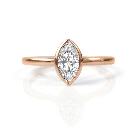 rose gold canadian diamond engagement rings studio1098