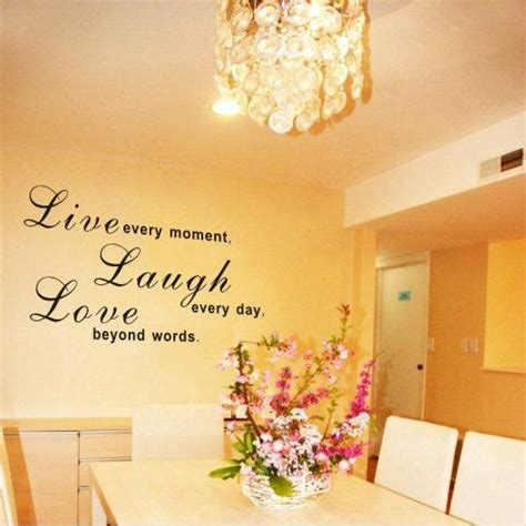 Product may have some variances in comparison to photo shown. 25 Live Laugh Love Living Room Idea in 2020 (With images) | Home decor, Wall writing, Word wall