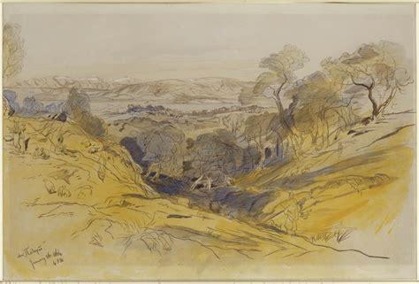 edward lears landscape drawings
