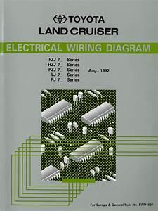 Toyota Land Cruiser Electrical Wiring Diagram  1hz Heavy