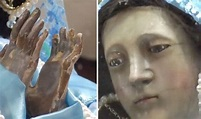 Mexico earthquake - Virgin Mary statue has started crying ...
