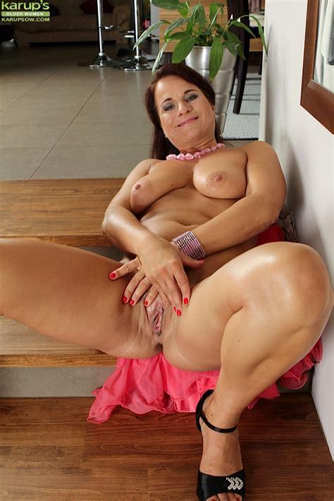 busty milf katherine ross demonstrates her alluring big