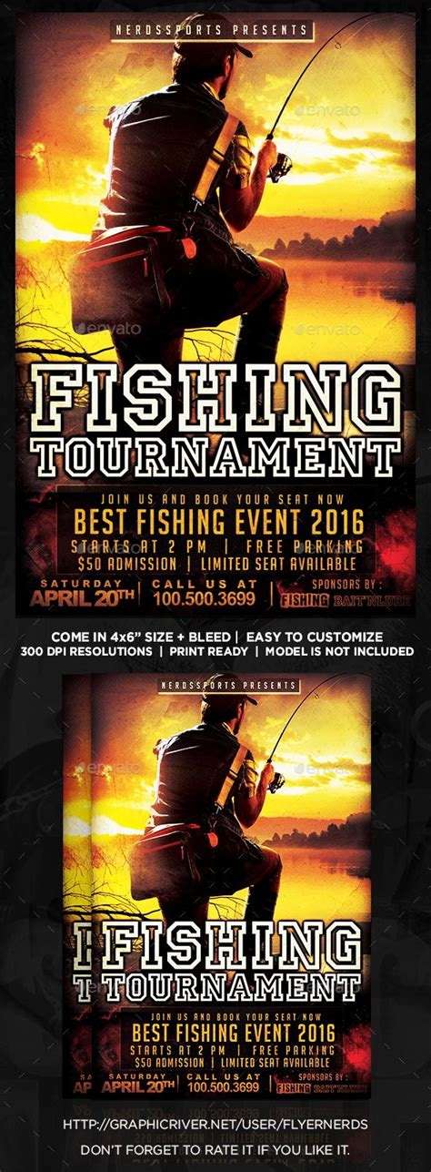 Hi, there you can download apk file fishing wallpaper for android free, apk file version is 1.7 to download to your. Fishing Tournament Sports Flyer (With images)   Sports ...