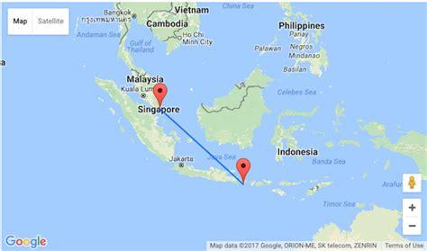 klm  stop flights  singapore  bali