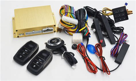 Car Ignition Invisible Alarm Engine Start Stop System