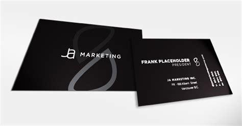 sexy elegant black business cards pixel curse