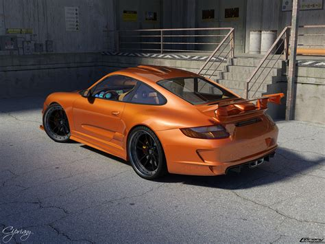 porsche 911 orange orange porsche 911 gt3 1 speedlux