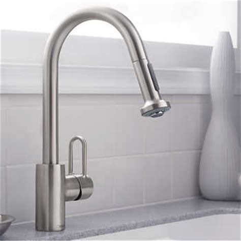 hansgrohe metro higharc kitchen faucet with 2 function