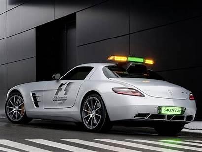 Mercedes F1 Amg Benz Sls Desktop Safety