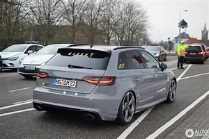 Audi Rs3 Sportback : audi rs3 sportback 8v 24 january 2018 autogespot ~ Nature-et-papiers.com Idées de Décoration