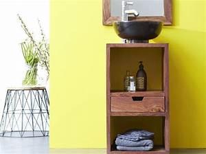 Petit Meuble Vasque : petit meuble salle de bains notre s lection elle ~ Teatrodelosmanantiales.com Idées de Décoration