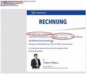 Gmx Rechnung : sicherheitshinweis als rechnungen getarnte spam e mails verbreiten computerviren 1 1 blog ~ Themetempest.com Abrechnung