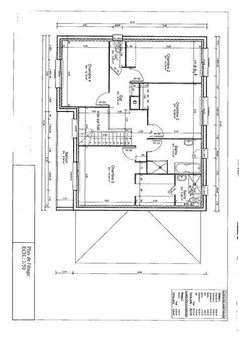 plan maison 1 騁age 3 chambres avis plan maison 166 m2 r 1 35 messages