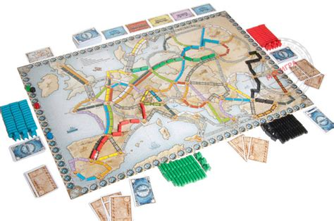 Ticket To Ride 2004 Most Popular Board Games Ranked