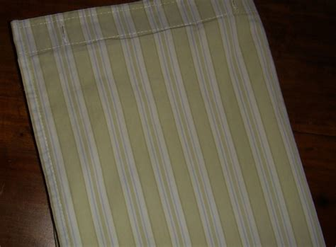 Simply Shabby Chic Pale Green White Ticking Stripe 100