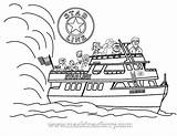 Boat Ferry Coloring Colouring Mackinac Line Bridge Island Ages Feel Please Kid sketch template