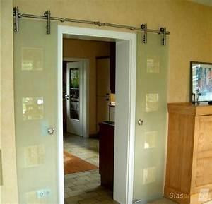 Schiebetür Glas Bauhaus : wenn neben der t r ffnung wenig platz ist bietet sich ~ Watch28wear.com Haus und Dekorationen