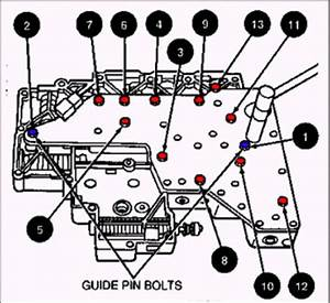 Ford Aod Aode 4r70w Valve Body Bolts And 50 Similar Items