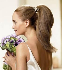Queu De Cheval Homme : coiffure mariage cheveux longs mi longs courts les tendances suivre ~ Melissatoandfro.com Idées de Décoration