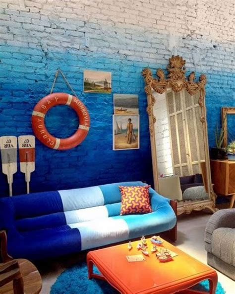 For a rustic gallery wall, try using vintage decorations, like an antique bike and distressed signs that say your favorite quotes. 10 Incredibly Creative Interior Design Ideas with Ombre ...