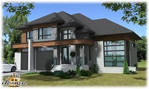 plan de maison de luxe gratuit idees de decoration With ordinary plan de belle maison 4 maison contemporaine modele