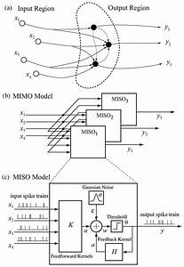 Mimo Model For Population Neural Dynamics   A  Schematic