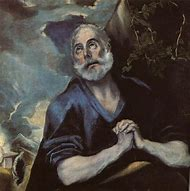 El Greco Painting of Peter