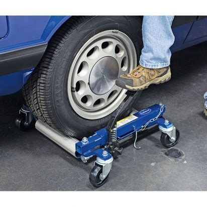 Eastwood Introduces Hydraulic Wheel Dollies that Make