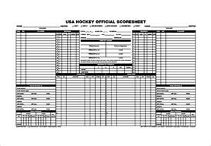 Bowling Sheet Template 9 Hockey Sheets Free Sle Exle Format