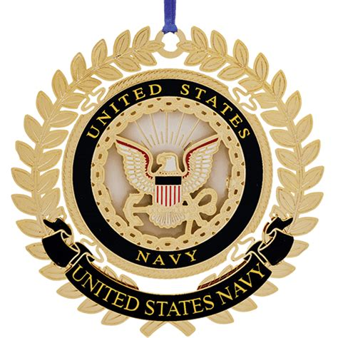 united states navy logo ornament beacon design