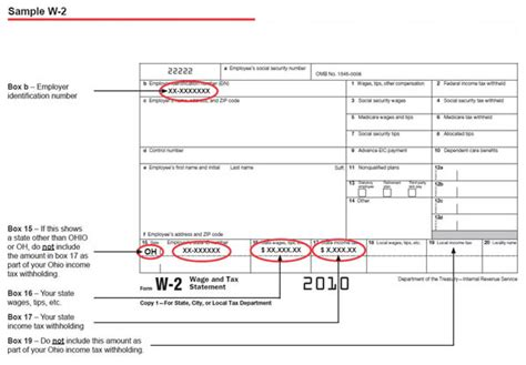 how to find my w2 form online ohio department of taxation gt taxeducation gt fttopic5