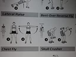 Amazon.com : Dumbbell Workout Exercise Poster - NOW