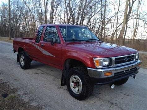 1993 Toyota Tacoma by Sell Used 1993 Toyota Tacoma Extended Cab 3 0l Clean
