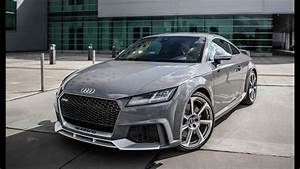 Audi Tt Rs 2018 : it 39 s here the 400hp 2018 audi tt rs 5cyl turbo dragstrip monster nardo gray sports ~ Medecine-chirurgie-esthetiques.com Avis de Voitures