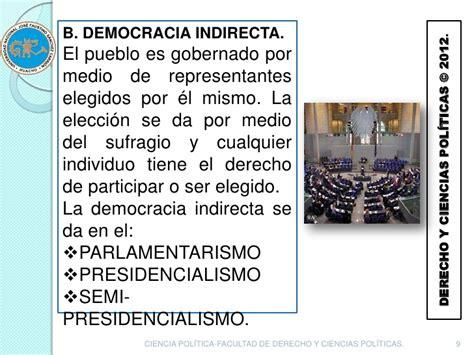 La palabra democracia es una de las más significativas y relevantes del léxico político de la actualidad. PARTICIPACIÓN POLÍTICA Y DEMOCRACIA DIRECTA