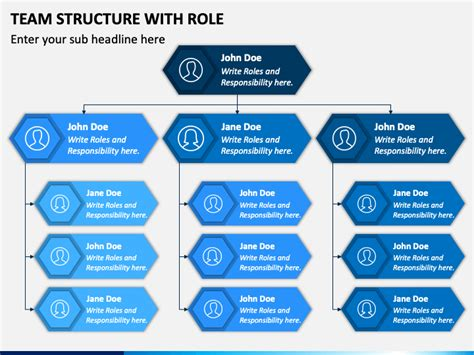 team structure  role powerpoint template